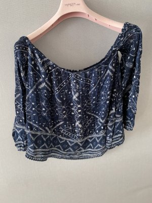 Abercrombie & Fitch Off-The-Shoulder Top multicolored