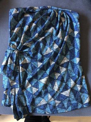 Mina UK Top spalle scoperte blu-grigio chiaro