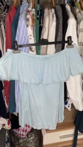 Bodyflirt One Shoulder Top azure-turquoise