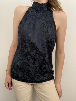 Mexx Off the shoulder top donkerblauw