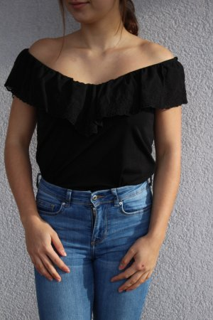 Schulterfreies Top von H&M