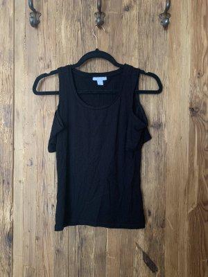 Amisu Camisa acanalada negro
