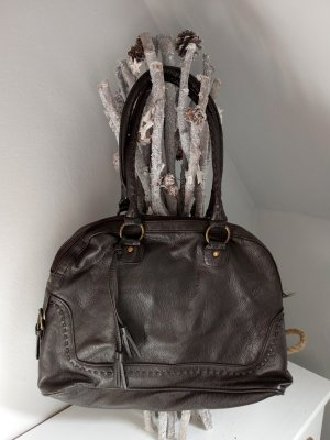 TCM Shoulder Bag black brown