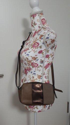 Sac porté épaule brun-brun foncé