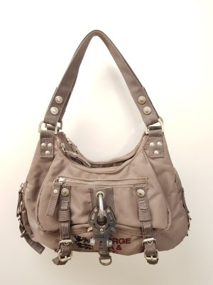 George Gina & Lucy Shoulder Bag grey nylon