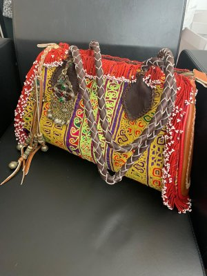 World Family Fringed Bag multicolored