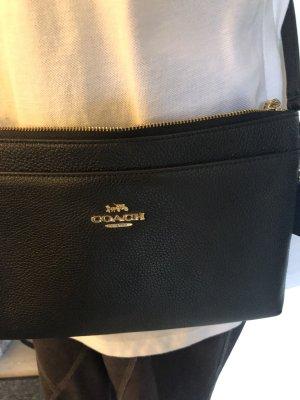 Coach Shoulder Bag black-gold-colored