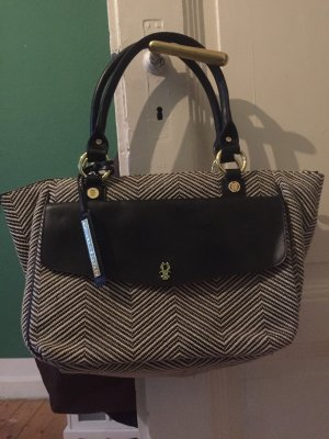George Gina & Lucy Shoulder Bag black-white