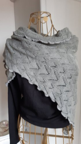 Silkroad Knitted Scarf light grey