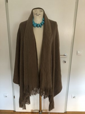 Shoulder Scarf grey brown