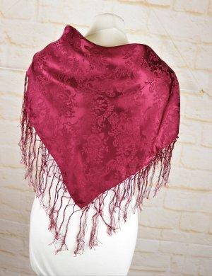 Silk Cloth dark red silk