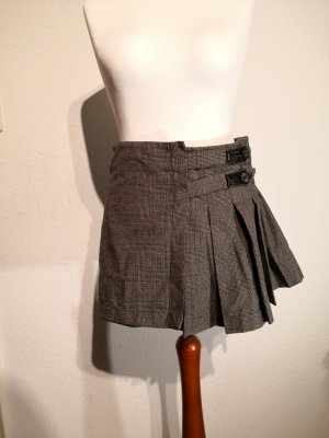 Ann Christine Mini-jupe gris foncé-gris brun