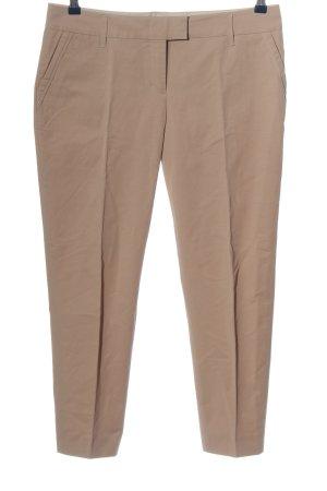 Schumacher Pantalón tobillero marrón estilo «business»