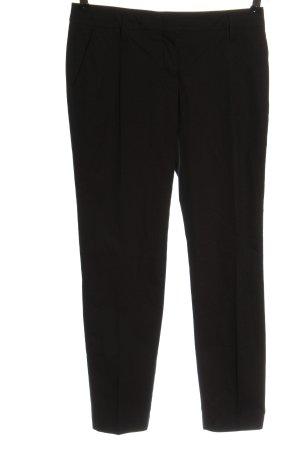 Schumacher Pantalón de vestir negro estilo «business»