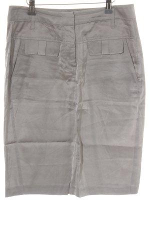 Schumacher Pencil Skirt silver-colored elegant