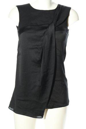 Schumacher Blouse topje zwart zakelijke stijl