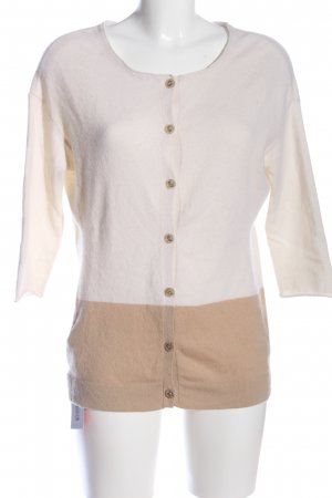 Schumacher Cardigan creme-braun Casual-Look