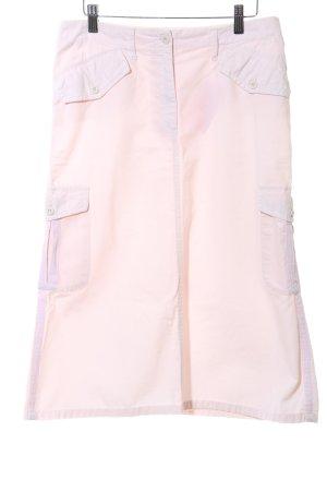 Schumacher Falda estilo cargo rosa look casual