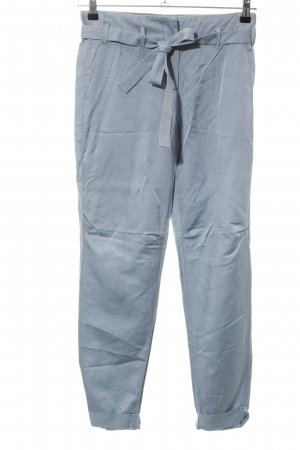 Schumacher Chinohose blau Business-Look
