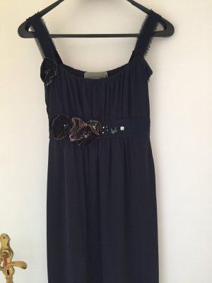 Schumacher, festliches knielanges Kleid, dunkelblau