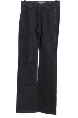 Schumacher Jeans taille haute noir style décontracté