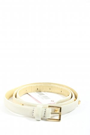 Schumacher Faux Leather Belt natural white business style