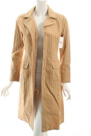 Schumacher Long-Blazer sandbraun Street-Fashion-Look