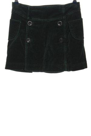 Schumacher Mini-jupe noir style décontracté