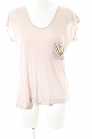 Schumacher Oversized Shirt creme-goldfarben Casual-Look