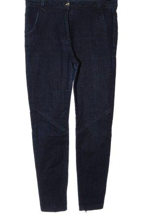 Schumacher Jeans a sigaretta blu stile casual