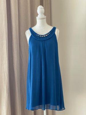 Schumacher Seidenkleid blau