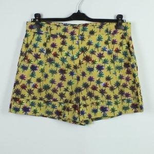 SCHUMACHER Shorts Gr. M gelb bunt Palmen (19/11/286*)