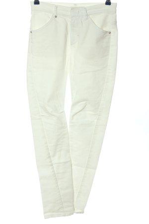 Schumacher Jeans skinny blanc style décontracté
