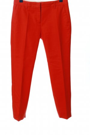 Schumacher Stoffhose rot Casual-Look