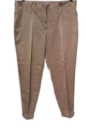 Schumacher Pantalón tipo suéter color bronce look casual