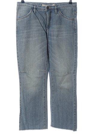 Schumacher Straight-Leg Jeans blau Casual-Look