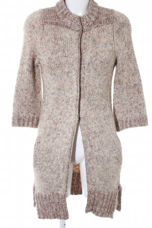 Schumacher Knitted Coat weave pattern casual look