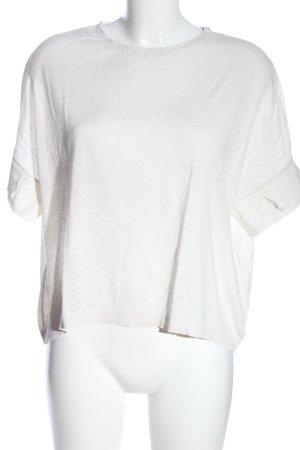 Schumacher Gebreid shirt wit casual uitstraling