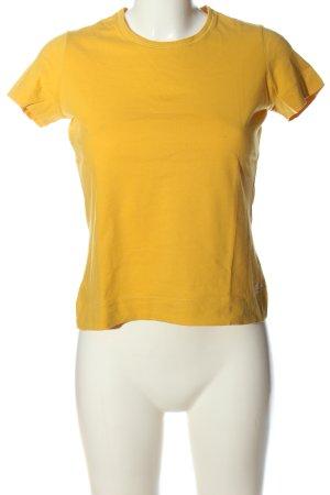 Schumacher T-Shirt blassgelb Casual-Look