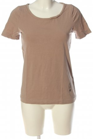 Schumacher T-shirt marrone stile casual