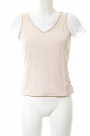 Schumacher T-Shirt creme-weiß Casual-Look