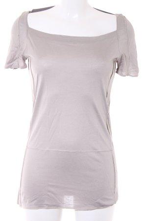 Schumacher T-Shirt graubraun-beige Casual-Look