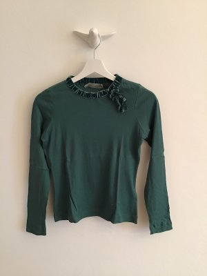 SCHUMACHER, T-shirt, langarm, petrolfarben