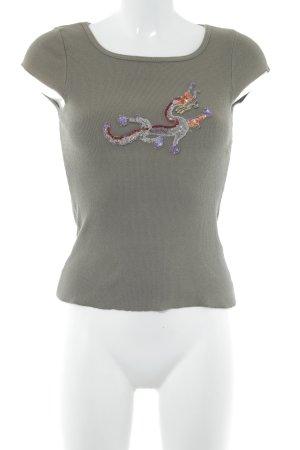 Schumacher T-Shirt olivgrün sportlicher Stil