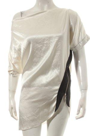 Schumacher Waterval shirt wolwit-zwart elegant