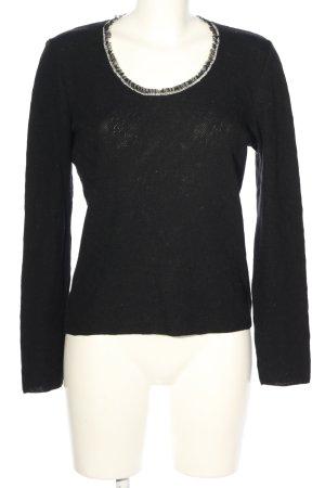 Schumacher Jersey de lana negro look casual