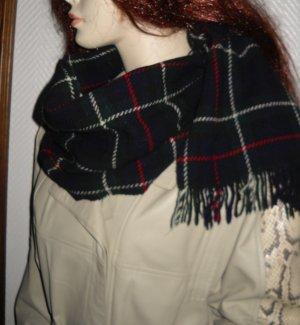 Capuchon sjaal veelkleurig Wol