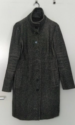 Max Mara Wool Coat dark grey-anthracite