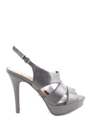 Schutz High Heel Sandaletten schwarz Elegant