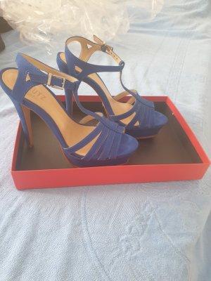 Schutz Sandalias con plataforma azul